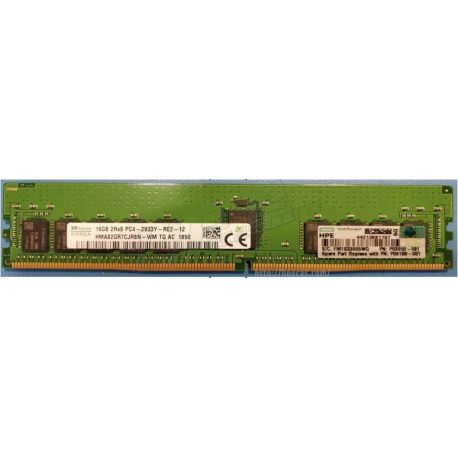 HPE Memória 16gb 2rx8 Pc4-2933y-r Smart Kit (P00922-B21, P06188-001) N