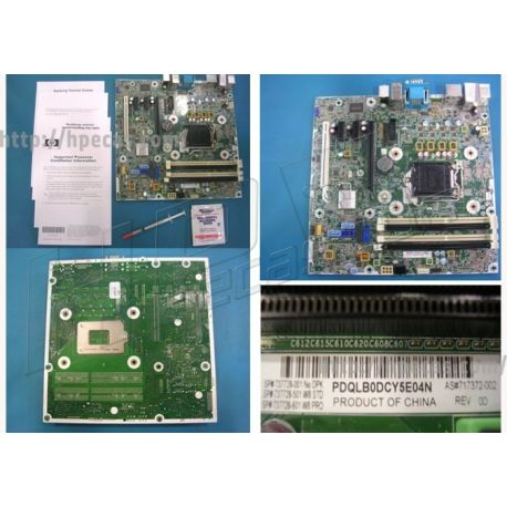 Hp Elitedesk 800 Sff System Board (motherboard) As (737728-001)