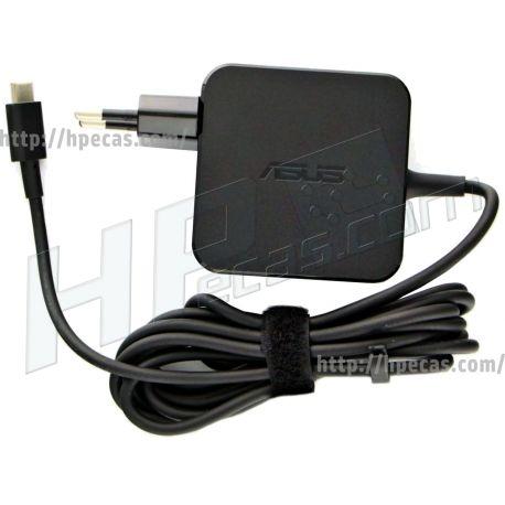 Carregador ASUS Original Smart 45W 20V/15V/9V/5V USB Type-C Black EU (0A001-00238500, 0A001-00239600, 0A001-00693000, 90XB03UN-MPW010, AC095, ADP-45EW C) N