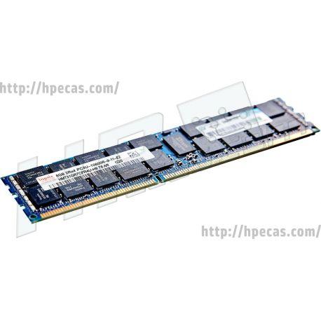 HPE 8GB (1x8GB) 2Rx4 PC3U-10600R-9 DDR3-1333 ECC 1.25V RDIMM 240-pin STD (647649-171, 647875-B21, 647875-S21, 687460-001) N