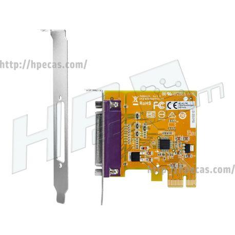 HP PCIe x1 Parallel Port Card (830632-001, N1M40AA) N