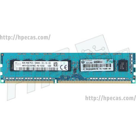 HPE 8GB (1x8GB) 2Rx8 PC3-14900E-13 DDR3-1866 ECC 1.50V UDIMM 240-pin STD (708635-B21, 708635-S21, 708636-B21, 708636-S21, 712288-081, 712288-581, 715271-001, 733736-001, E2Q93AA, E2Q93AT) N