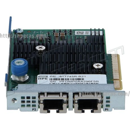 HPE ETHERNET 10GB 2-PORT FLR-T X550-AT2 ADAPTER (817743-001, 817745-B21, 840138-001, H97796-009, HSTNS-B091) R