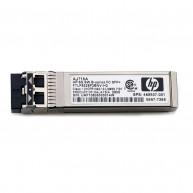 AJ716B HP 8GB SHORTWAVE B-SERIES FIBRE CHANNEL 1 PACK SFP+ TRANSCEIVER