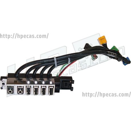 HP 6000 8000 Front I/O assembly SFF (581351-001, 611897-001) N