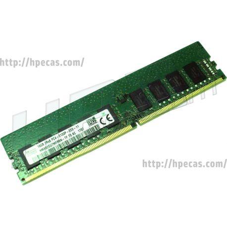 DELL 16GB (1X16GB) 2Rx8 DDR4-2133P-E CAS-15-15-15 Unbuffered ECC Standard Memory Kit (797259-591, 805647-B21, 840818-001, N0H88AA, N0H88AT) N