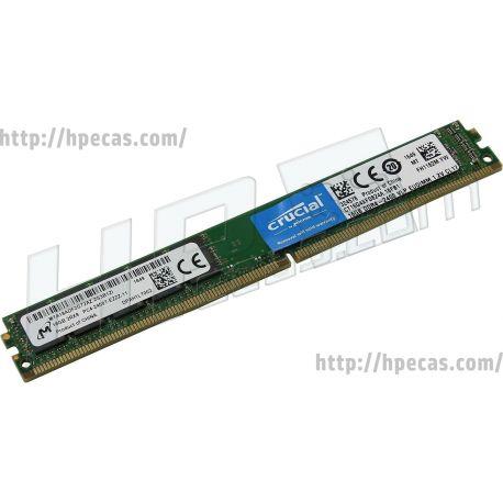 OEM 16GB (1x16GB) 2Rx8 PC4-19200T-E DDR4-2400 ECC SDP CAS:17-17-17 1.20V UDIMM VLP (CT16G4XFD824A) N