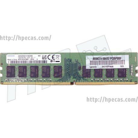 LENOVO 16GB (1x16GB) 2Rx8 PC4-19200T-E DDR4-2400 ECC SDP CAS:17-17-17 1.20V UDIMM STD (00PH825, 4X70P26063) N