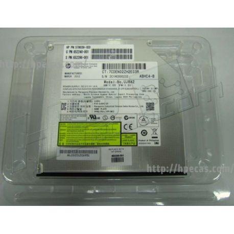 Sata Dvd-rom Optical Drive (jack Black Color) - 8x (652296-001)