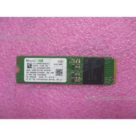 HP Ssd 512gb M2 2280 Pcie Nvme Va (L85364-001)
