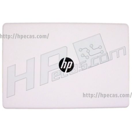 HP 17-AK, 17-BS, 17-BR, 17-BU Display Back Cover in Snow White for use in touch models (933299-001) N