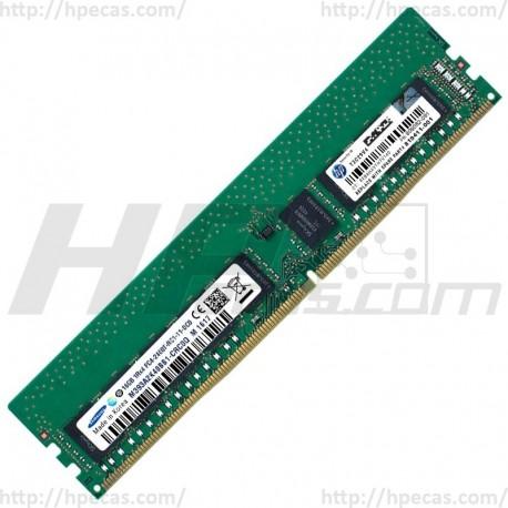 Memória HPE 16GB (1x 16GB) 1Rx4 PC4-2400T-R REG ECC CAS-17-17-17 SM 1.2V STD (805349-B21, 809082-091, 819411-001, HMA82GR7AFR4N-UH, M393A2K40BB1-CRC0Q) FS