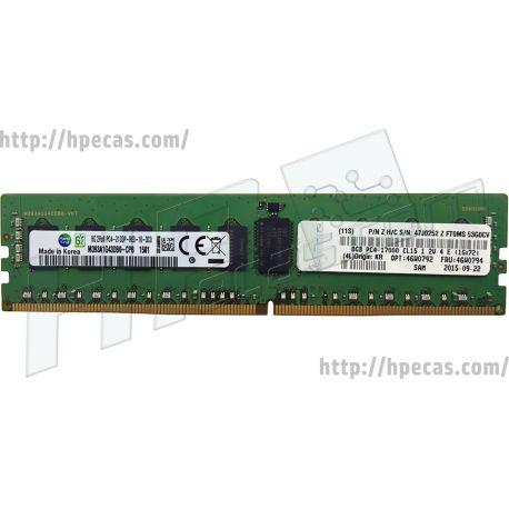 Lenovo 8GB (1x8GB) 2Rx8 PC4-17000P-R DDR4-2133 ECC SDP CAS:15-15-15 1.20V RDIMM STD (46W0791, 46W0792, 46W0794, 47J0252)  N