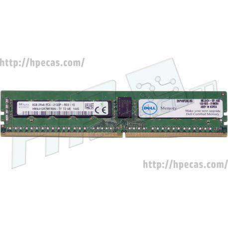 DELL 8GB (1x8GB) 2Rx8 PC4-17000P-R DDR4-2133 ECC SDP CAS:15-15-15 1.20V RDIMM STD (06W21R, 0H8PGN, 0YDGP4, 370-ABUN, 370-ABYV, 6W21R, A7910487, A7945704, H8PGN, SNPH8PGNC/8G, SNPH8PGNG/8G, YDGP4)  N