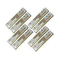 HPE 64GB (8x8GB) 2R PC2-5300F-5 DDR2-667 ECC 1.80V FBDIMM 240-pin STD (495604-B21, 495604-S21) R