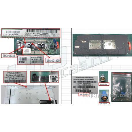 Hpe Proliant Bl460c G10 System Board (875625-001) R
