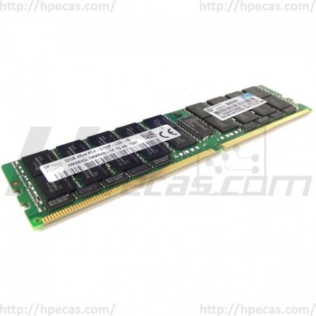 Memória OEM 32GB (1X32GB) 4RX4 PC4-2133P-L DDR4-2133 Registered CL15 ECC LR 1.2V STD (726722-B21, 774174-001) N