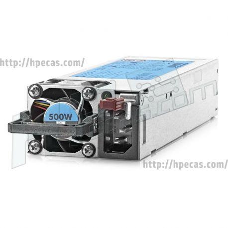 HPE Fonte de Alimentação 500W Flex Slot Platinum HP 723595-001 (720478-B21, 723594-001, 723595-001, 723595-101, 723595-201, 754377-001) N