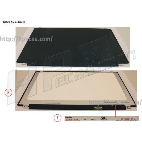 Fujitsu LCD PANEL INO AG, N156BGA-EA2 (EDP,HD) (34055317, 34073640, CP729651-XX, CP770487-XX, FUJ:CP729651-XX, FUJ:CP770487-XX) N