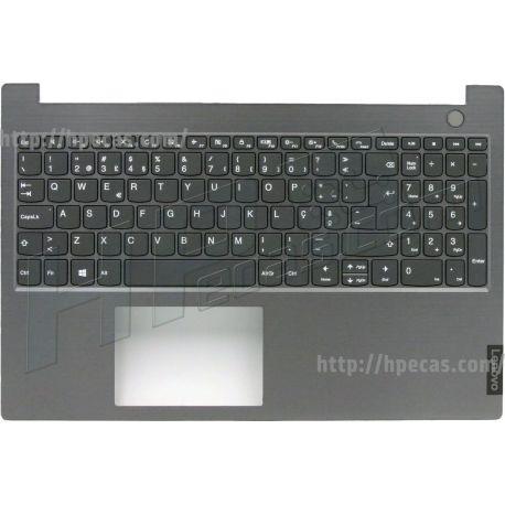 Lenovo ThinkBook 15-IIL, 15-IML, TopCover Q20RW Mineral Grey com Teclado Português com Backlit (5CB0W45286) N