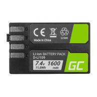 Bateria Green Cell D-Li109 DLi109 para cameras Pentax K-r, K-2, K-30, K-50, K-500, K-S1, K-S2 7.4V 1600mAh (CB86)