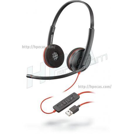 Headset Poly Blackwire 3220 USB-A (209745-201) N