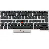 Lenovo Teclado FRU COMO FL Prata Português para Lenovo ThinkPad E480, E485, E490, E495, L380, L390, L480, L490, P43S, T480S, T490, T495 (01YN321, 01YN401) N