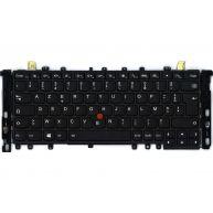 Lenovo ThinkPad Yoga 12, Teclado Stella-KBD Francês com Backlit (00HT996, 00PA854, 04Y2631, 04Y2927, SN20A45469) N