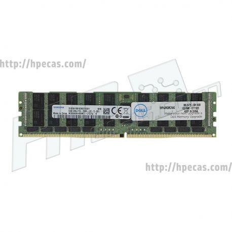Memória Certificada DELL 16GB (1x 16GB) 2Rx8 PC4-21300 DDR4 2666MHz REG ECC CL19 1.2V RDIMM (AA138422)