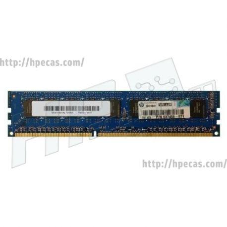 Memória Certificada HP 2GB DDR3/1333mhz PC3-10600 ECC CL9 Workstation Z200, Z800 séries (637458-571) R