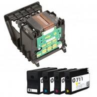 Cabeça de Impressão HP 711 (C1Q10A)