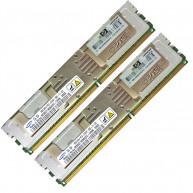 413015-B21 HP 16GB (2x8GB) 2Rx4 PC2-5300 DDR2-667 Fully Buffered CL5 ECC 1.5V STD (R)