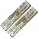 HPE 16GB (2x8GB) 2R PC2-5300F-5 DDR2-667 ECC 1.80V FBDIMM 240-pin STD (413015-B21, 413015-S21, 416749-B21, 416749-S21, 416750-B21, 416750-S21) R