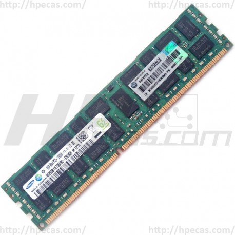 HPE 8GB (1x8GB) 2Rx4 PC3-12800R-11 DDR3-1600 ECC 1.50V RDIMM 240-pin STD (689911-071, 689911-171, 690802-B21, 690803-B21, 695793-B21, 695794-B21, 698807-001, 698808-001) N