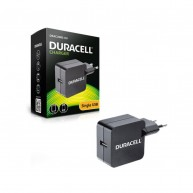 DRACUSB2-EU DURACELL Carregador USB 5V 2.4A 12W para Smartphone/Tablet