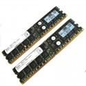 343057-B21 HP 4GB (2x2GB) 1Rx4 PC2-3200 DDR2-400 Registered CL3 ECC 1.8V STD (R)