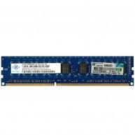 Memória HP 4GB (1x 4GB) 2Rx8 PC3-10600 DDR3-1333 Unbuffered CL9 ECC 1.5V (500672-B21, 501541-001, 500210-071)