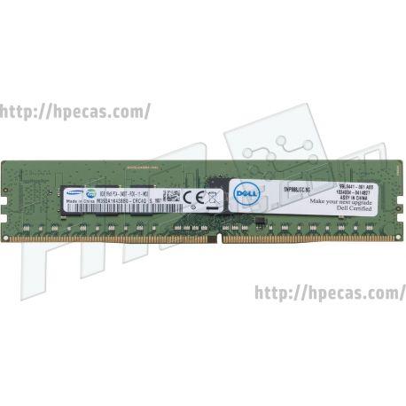 DELL EMC 8GB (1x8GB) 1R PC4-19200T-R CL17 DDR4-2400 REG ECC 1.20V RDIMM 288-pin STD (0888JG, 888JG, A8711886, SNP888JGC/8G, SNP888JGCC/8G) N
