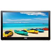 "LCD AOC 15.6"" 1920x1080 FHD Externo e Portátil USB 3.0 (I1659FWUX)"