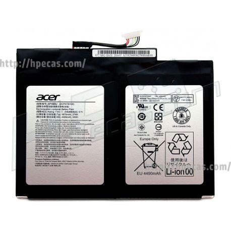 Bateria ACER AP16B4J Original de 2 células 7.6V 37Wh 4870mAh (KT.00204.003, KT.00204.005, KT00204003, KT00204005,) N