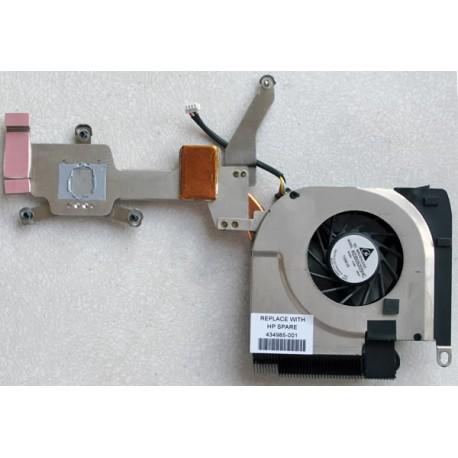 HEATSINK & COOLING FAN HP DV6000 INTEL CPU 434985-001