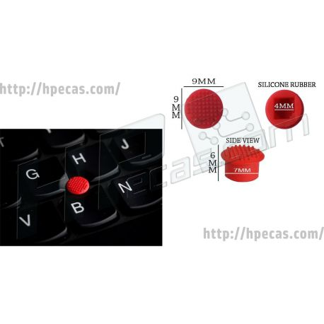 LENOVO Keyboard Pointing Stick Rubber Cap Red 1 Unit (4XH0M41716) N