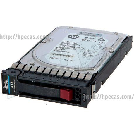 "HPE 3TB 7.2K 3Gb/s DP SATA 2.5"" SFF HP 512n MDL NCQ G5-G7 ST HDD (628059-B21, 628060-B21, 628180-001, 657583-B21, 657585-B21, 657736-001, 657737-001, 715407-B21, 715437-001) FS"