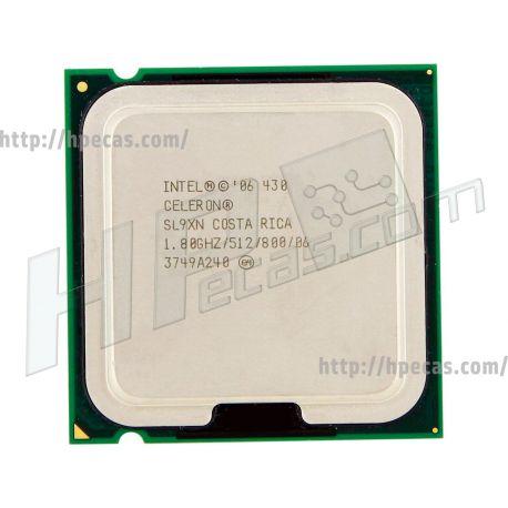 Intel® Celeron® Processor 430 512K Cache, 1.80 GHz, 800 MHz FSB LGA775 (SL9XN, BX80557430, HH80557RG033512, BX50887430) R