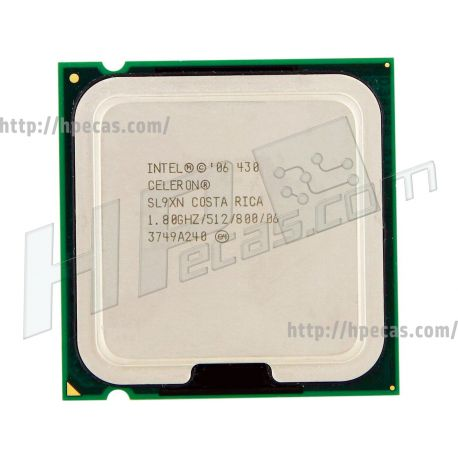 HP Intel® Celeron® Processor 430 512K Cache, 1.80 GHz, 800 MHz FSB LGA775 (SL9XN, 444952-001) N
