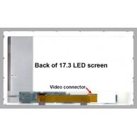 "Monitor LCD compatível 17.3"" 1600x900 WXGA HD LED"