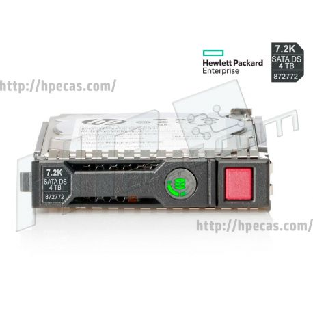 "HPE 4TB 7.2K 6Gb/s SATA 3.5"" LFF HP 512n Business Critical DS MV Gen9-Gen10 SC HDD (872491-B21, 872491-H21, 872491-K21, 872492-B21, 872772-001, P03715-B21) N"