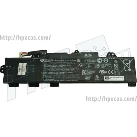 Bateria HP Original EliteBook 755 G5, 840 G5, 850 G5, 850 G6, Zbook 15u G5 Mobile Workstation 3 células 11.55V 56Wh 4610mAh (TT03XL, 933322-006, 933322-855, 923824-421, 932824-2C1, 932824-421, 932824-541, HSTNN-DB8K, HSTNN-LB8H, HSTNN-UB7T, TT03056XL) N