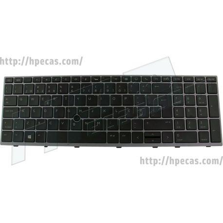 Teclado Português com Backlight para HP ZBook 15U G5/G6 (L13000-131, L17971-131) N