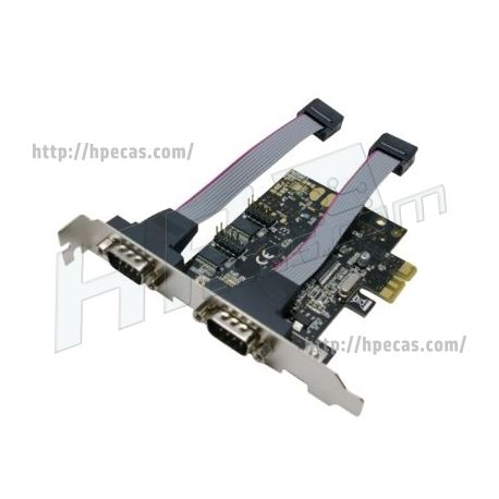Placa Controladora PCI-EXPRESS 2  portas serie RS-232 (N)